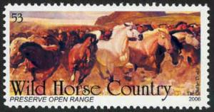 Wild Horse Country - Preserve Open Range - Cinderella - MNH