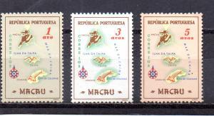 Macao 383-385 MH (B)