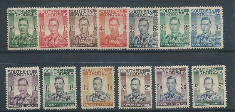 S. Rhodesia 42-54 LH