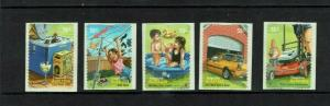 Australia: 2009, Inventive Australian  Self adhesive booklet stamps