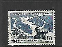 FRENCH WEST AFRICA, 70, USED, FIDES ISSUE