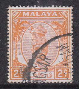 Malaya Perak 1950 Sc 106 2c Used