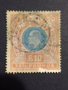 British 1902 South Africa,NATAL SC#99  Edward VII inscription postage Revenue