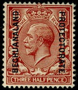 BECHUANALAND SG75, 1½d red-brown, M MINT.