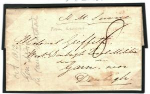 GB WALES Merioneth *Garn* HISTORIC MILITARY From General 1813 {samwells} H32a