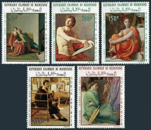 Mauritania C66-70,MNH.Michel 323-324,344-346. Paintings by Jean Dominque Ingres.
