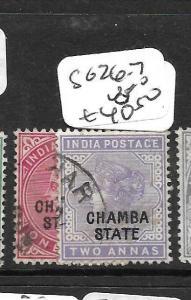 INDIA  CHAMBA (PP3108B) QV  SG26-7     VFU
