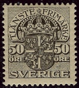 Sweden SC O38 Mint F-VF...Worthy of a close look!!