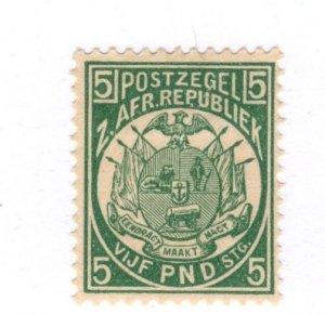 Transvaal #135 MH REPRINT - Stamp CAT VALUE $4,000.00