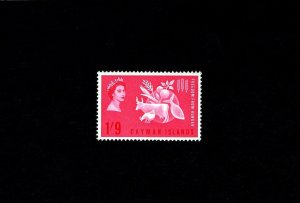 CAYMAN IS - 1963 - QE II - FREEDOM FROM HUNGER - MINT - MNH - SINGLE!