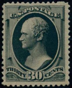 US Scott #190 Mint, FVF, Light Hinge
