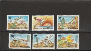 Netherlands Antilles  Scott#  B276-81  MNH  (1990 Youth Care Campaign)