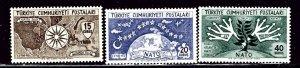 Turkey 1127-29 MNH 1954 National Anniversary    (ap3036)