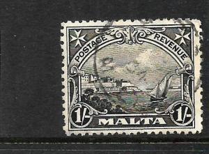 MALTA  1926-27   1/- PICTORIAL   FU     SG166