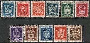 San Marino Sc 242-251 partial set MH