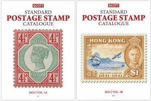 New 2022 Scott Standard Postage Stamp Catalogue Worldwide (G-I) Volume 3 A&B