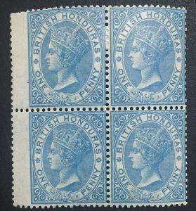 MOMEN: HONDURAS SG #1 BLOCK 1865 NO WMK MINT OG H LOT #61230