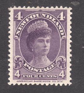 Newfoundland  #84 Mint VF