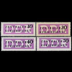 DDR 1956 - Scott# O33-6 Zentraler Set of 4 LH