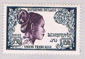 Laos 4 MLH Laotion Woman 1951 (BP5182)