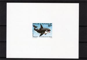 Wallis & Futuna 1984 Whale-Nature Protec.Deluxe S/S  Sc#317