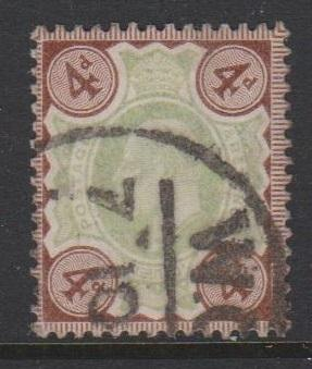 Great Britain KEVII Sc#133 Used