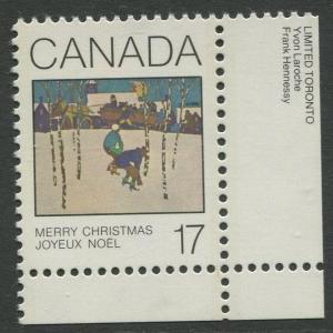 STAMP STATION PERTH Canada #871 Christmas 1980 MNH CV$0.25