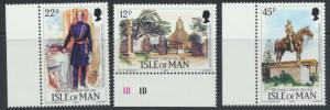 Isle of Man - SG 300-302  SC# 291-293  MUH Sir Mark Gibson