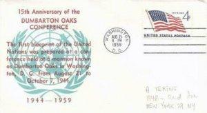 DUMBARTON OAKS CONFERENCE 15th Anniversary 1959 - A. Terins