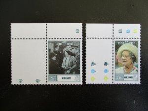 Kiribati #555-56 Mint Never Hinged (M7N4) - Stamp Lives Matter!