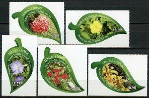 Trinidad & Tobago 2018 MNH Botanic Gardens 5v S/A Set Flowers Nature Stamps