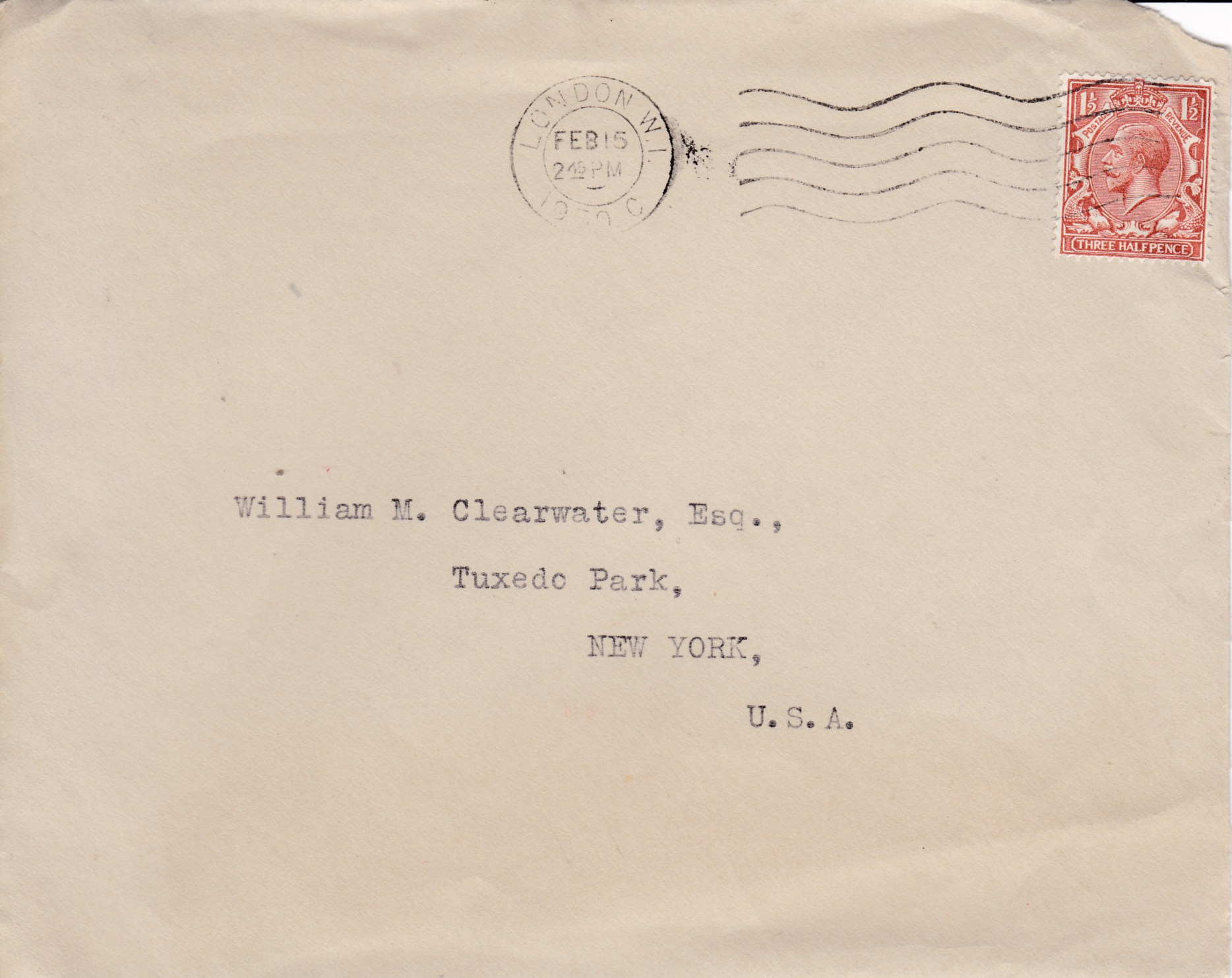 G B  1930 Maggs Brothers Ornate Letter Head Stationary