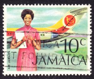 Jamaica Scott 351   VF used.