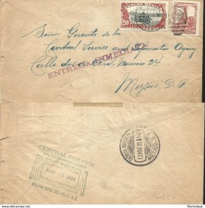 J) 1928 MEXICO, IMMEDIATE DELIVERY, BICICLE, CUAUHTEMOC MONUMENT, MULTIPLE STAMP