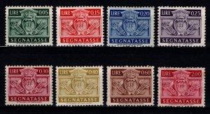 San Marino 1945 Postage Due, Part Set [Unused]