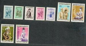 Burma Sc#244-251 M/LH+NH/VF, Cv. $29