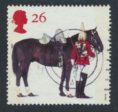 Great Britain SG 1990  Used    - Queen's Horses