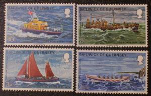Great Britain - Guernsey Scott #91-94 mnh