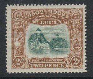 St. Lucia, Scott 49 (SG 63), MHR