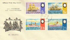 Saint Helena Scott 224-227 Unaddressed.