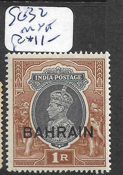 BAHRAIN (PP0802B) ON INDIA KGVI  1R    SG 32  MNH