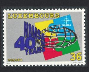 Luxembourg 40th Anniversary of North Atlantic Maintenance and Supply Agency 1v