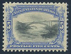 US Scott #297 Mint, XF, NH
