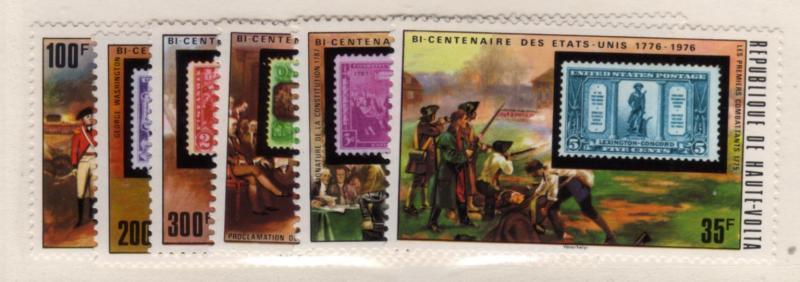 Upper Volta #352-57 American Bicentennial (656-2)