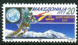 044 - MACEDONIA 1997 - Championship of Alpine Skiing - MNH Set