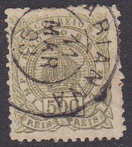 Brazil Sc #95 Used