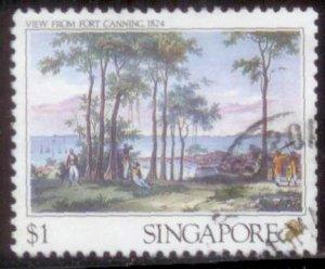 Singapore 1990 SC# 562 Used