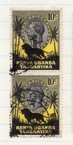 Kenya Uganda 1000 Early Issue Fine Used 10c. 198441