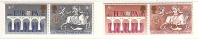 Great Britain Sc 1053-6 1984 Europa stamps NH