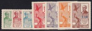 Ecuador - 1952 - SC 563-65,C236-39 - H - 2 complete sets